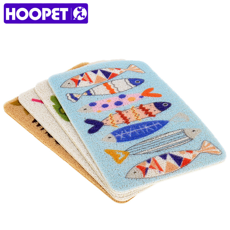 HOOPET Cat Litter Mat Kitten Soft Blanket Print Cushion