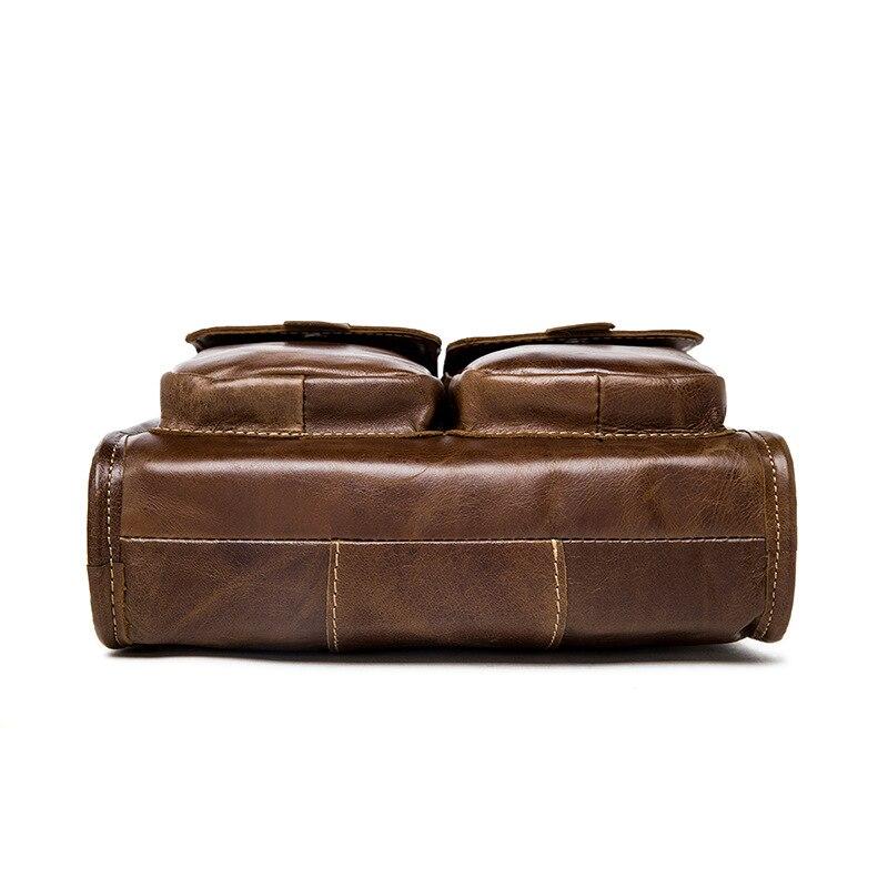 famous brand bag men messengerbags men' s men's one-shoulder bag, shoulder bag, casual, baotou, man bag luggage tag 10