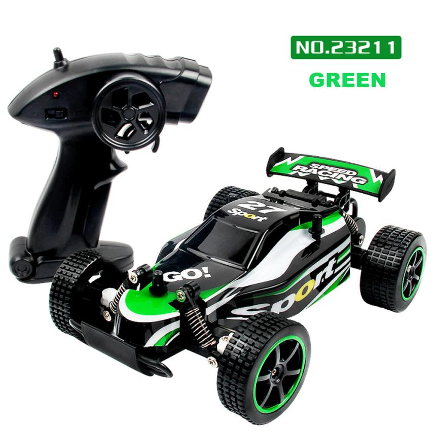 Children RC model toy <font><b>1</b></font>:20 <font><b>2</b></font>.4GHZ 2WD Radio Remote Control Off Road RC RTR Racing Car Truck toys for children