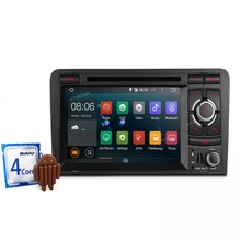 7″Android 4.4.4 Quad Core touch Screen 1080P Video WIFI Car GPS Navigator DVD PLAYER  With Screen Mirroring  For Audi A3/S3