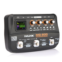 NUX MG 200 Guitar Modeling Processor Guitar Multi Effects Processor With 55 Effect Models Musical Instrument Parts for guitar