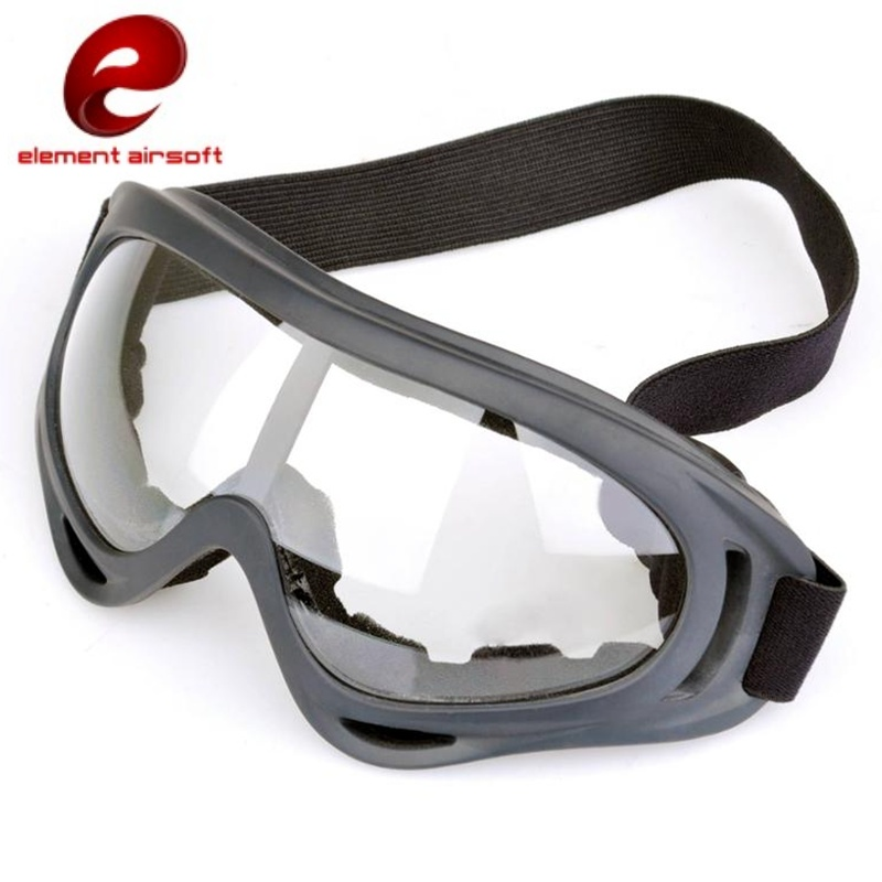 0ec9c7c4209 Tactical Airsoft Eye Protective Anti-fog Glasses Goggles Outdoor ...