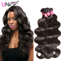UNice Hair Brazilian Body Wave 7A Brazilian Virgin Hair Weave 3 Bundles Body Wave Brazilian Hair Aliexpress Hair Extensions