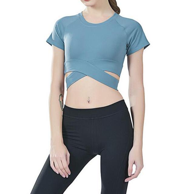 Workout Yoga Stylish Crop Top