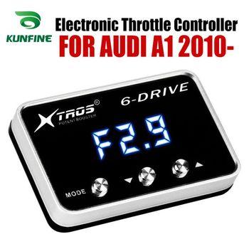 Potente Reforço Acelerador Acelerador Eletrônico velocidade do carro Controlador de Corrida Para AUDI A1 2010-2019 Peças Tuning Acessório
