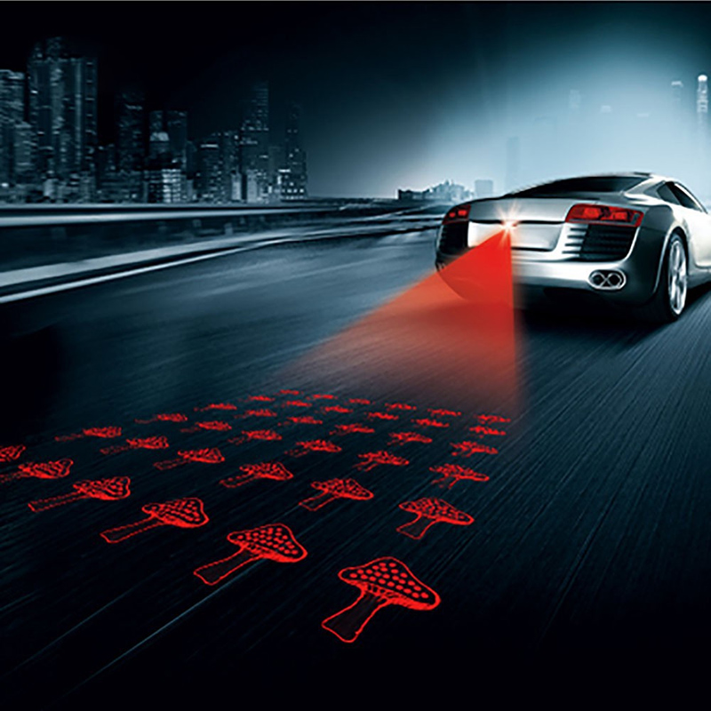 car styling Multi shape Anti Collision Rear-end Car LED 12V Laser Tail car Fog Light Auto Brake auto Parking car Warning Light car styling quadrangle anti collision rear end car laser tail 12v led car fog light auto brake lamp rearing car warning light