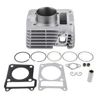 for Yamaha YBR125 YBR 125 Engine Motorcycle Engine Cylinder Kit Piston Gasket 54mm Bore