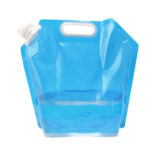 5L Outdoor Foldable Collapsible Drinking Water Bag Car Carrier Container