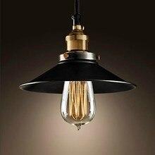 Ретро Стиле Лофт Эдисон Старинные Промышленные Подвесные Светильники Лампы в Европейском Стиле Живописи Обработки