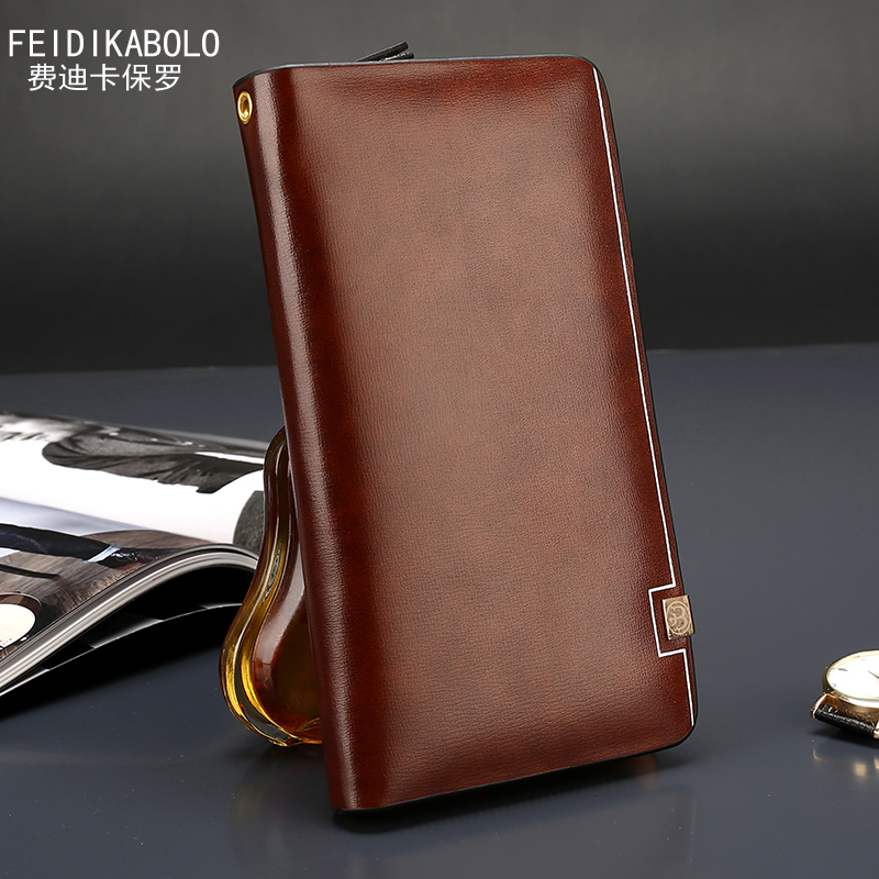 2016 Men clutch Bags Monederos Carteras Mujer Luxury Male Leather Purse Men's Clutch Wallets Handy Bags Man Wallets