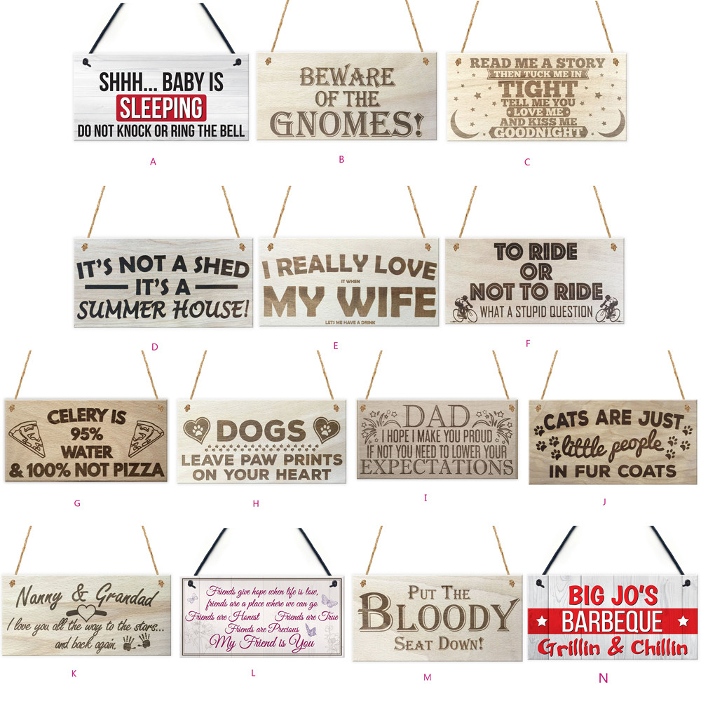 DOGS LEAVE FOOTPRINTS WOODEN SIGN WALL DECOR PLAQUE HOME DECOR ORNAMENT NEW