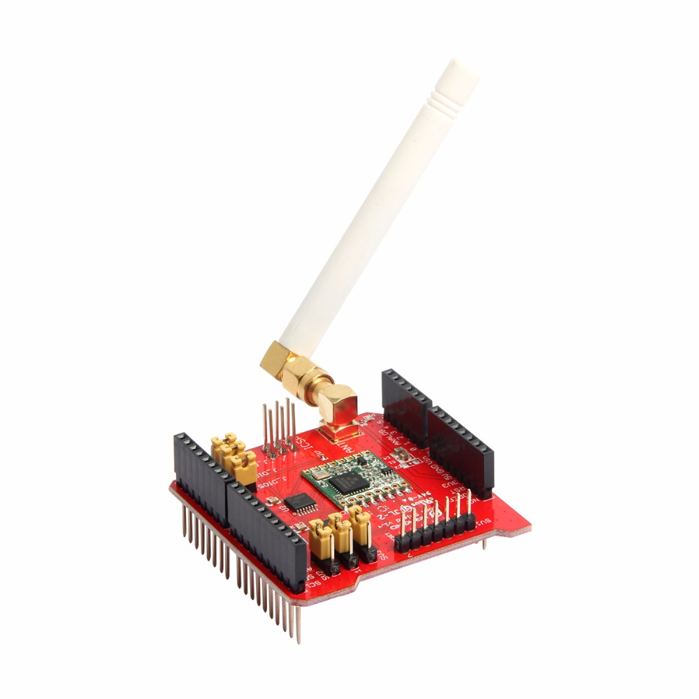 Long Distance Wireless 868/433Mhz Lora Shield V95 For Arduino Leonardo, UNO, Mega2560, Duemilanove, Due