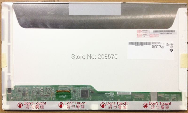 Free Shipping B156HW01 V.5 V5 B156HW02 LP156WF1 TLB2 LTN156HT01 LTN156HT02 15.6LED 1920X1080 40PIN LCD Display Laptop Screen m190en04 v 5 m190en04 v5 lcd display screens