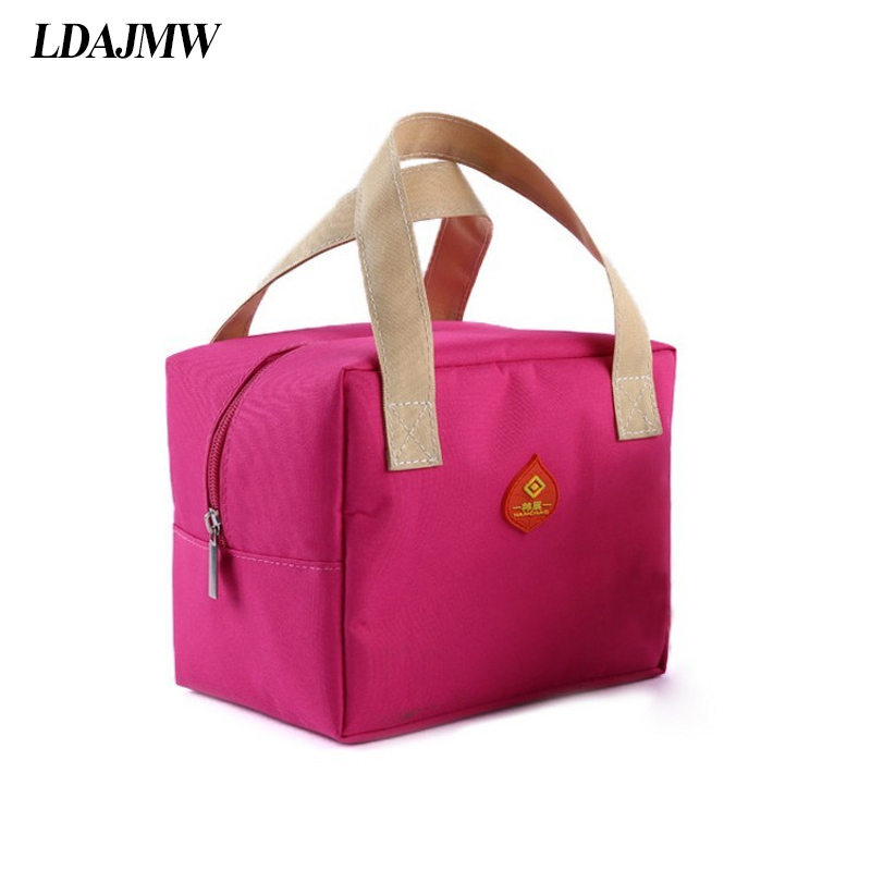 LDAJMW Portable Travel Picnic Cooler Bag Keep Fresh Thermos Storage Bag Thermal Food Ice Pack Lunch Bags Milk Bottle Organizers