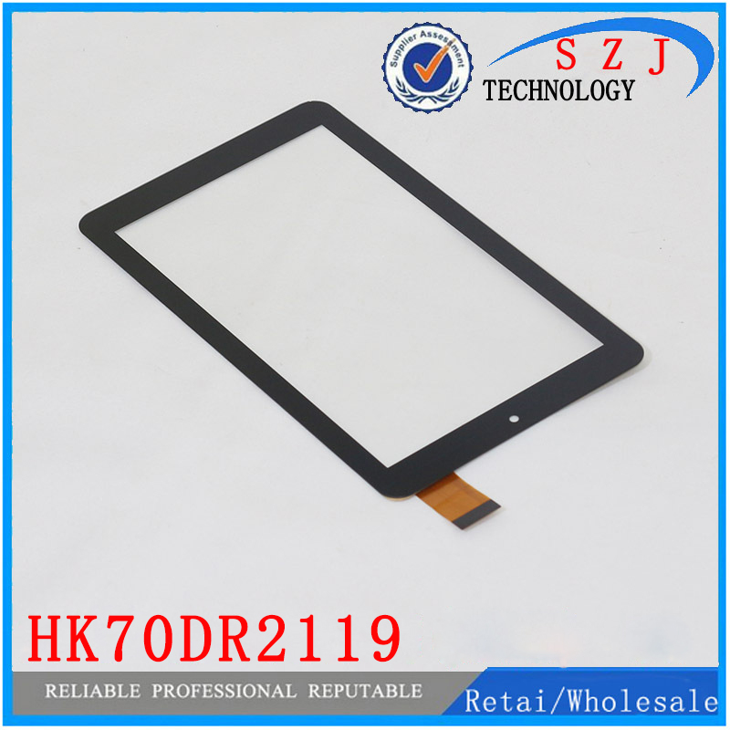 New 7'' inch HK70DR2119 For Tricolor GS700 Tablet Replacement Capacitive Touch Screen Digitizer Glass Panel HS1285 Free shipping new 7 inch tablet pc mglctp 701271 authentic touch screen handwriting screen multi point capacitive screen external screen