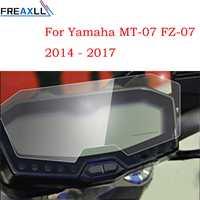 Für YAMAHA MT-07 FZ-07 MT 07 FZ 07 2013 2014 2015 2016 2017 Moto Cluster Scratch Tacho Film Screen Protector MT07 FZ07