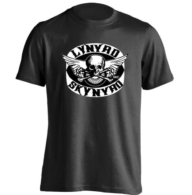 0152933b LYNYRD SKYNYRD eagle and pistol logo Mens & Womens Printing T Shirt Design T  Shirt