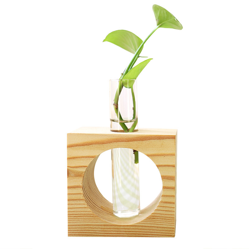 Europe Creative Water Culture Decor Figurine Glass Bottle Plant Hydroponic Craft Desk Decorations TV Cabinet Display Simple Gift|Figurines & Miniatures| |  - title=