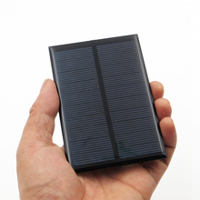5V 200mA Solar cells Epoxy Polycrystalline Silicon DIY Battery Power Charger Module small solar Panels toy
