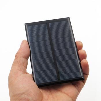 5V 200mA ogniwa słoneczne epoksydowe polikrystaliczne krzem DIY moduł ładowarki akumulatorowej małe panele słoneczne zabawka tanie i dobre opinie SLAR Panel słoneczny 20 Krzem polikrystaliczny CNC100X70-5 100*70mm 10pcs