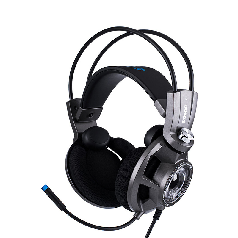 лучшая цена Somic G954 dynamic USB 7.1 Gaming Headset Headphones with Microphone for video Game
