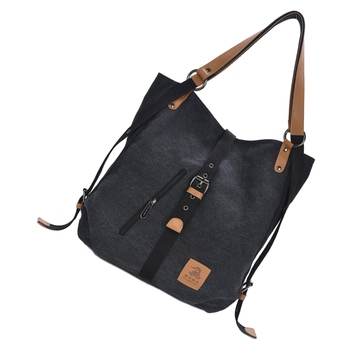 Women Fashion Casual Canvas Multifunctional Messenger Bag