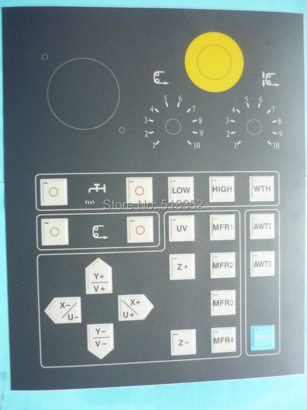 New Operation Panel Touch-Tone Operating Panel for Sodick SSG Low Speed Wire EDM Machine Replacement PartsNew Operation Panel Touch-Tone Operating Panel for Sodick SSG Low Speed Wire EDM Machine Replacement Parts