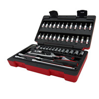 Freeship TaiWan manufacture 47PCS 1/4 ratchet wrenches tools set bike/bicycle repair tools combination flank sockets 4 13mm