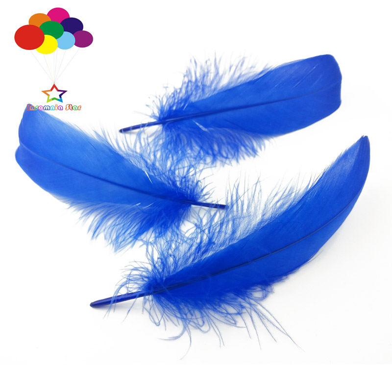 100pcs Natural white Ostrich feather 6-8in//15-20cm Diy carnival costume headress