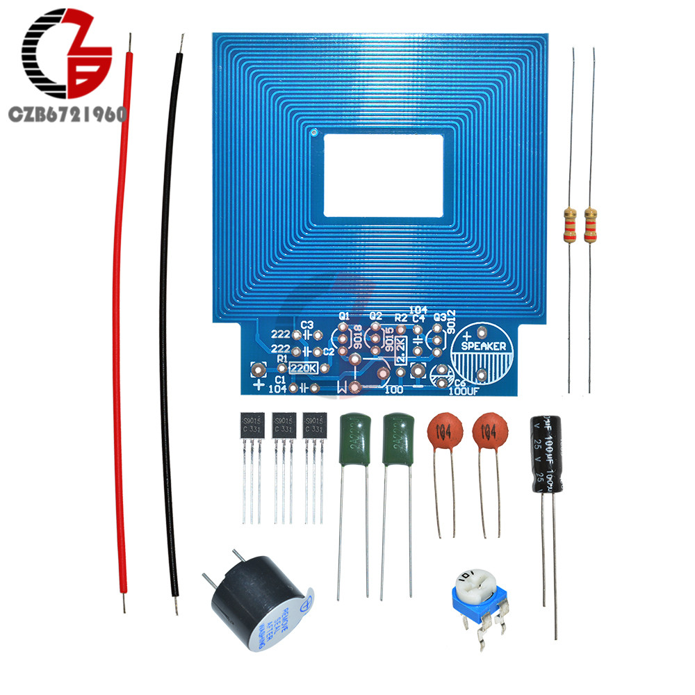 Diy Kit Simple Metal Detector Locator 3v 5v Dc Electronic How To Build This Single Zone Transistor Alarm Project Sniffer Kits Production