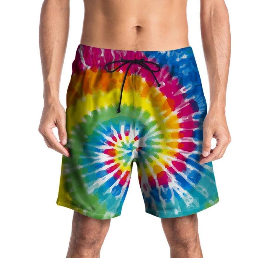 TS #504 Для мужчин Повседневное 3D с принтом «граффити» пляжные работы Повседневное Для мужчин короткие брюки шорты брюки Бесплатная доставка ...