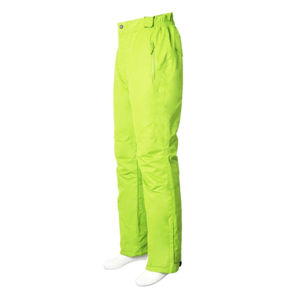 Pantalon de ski professionnel imperméable coupe-vent pour femme taille élastique épaisse pantalon de patinage de Snowboard chaud pour femme - 5