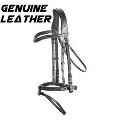 Wasser rein Harness Harness horsework training wettbewerb spezielle leder zügel Pferd utensilien