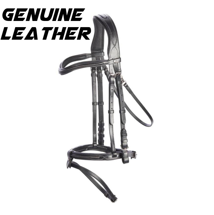 Water Rein Harness Harness Horsework Training Competition Special Leather Reins Horse Utensils