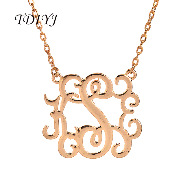 Tdiyj high quality kse initial letter pendant monogram necklace tdiyj high quality kse initial letter pendant monogram necklace personalized choker necklace 18 for mozeypictures Image collections