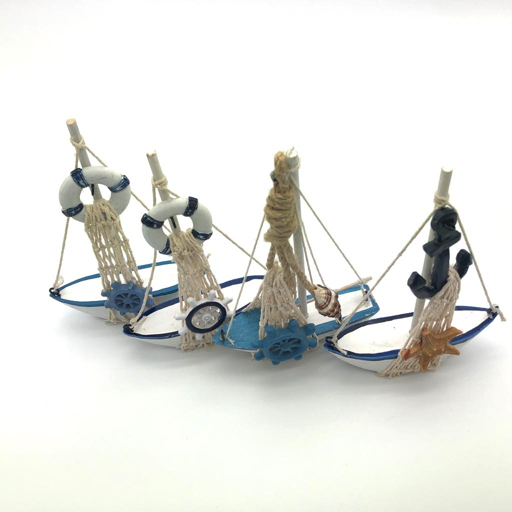 Ocean sailing Mediterranean style home decor crafts sailing small ornaments home decor