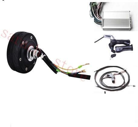 4 80 Вт 36 в электрический скутер комплект преобразования электродвигатель для ступицы колеса электрический скейтборд мотор комплект