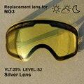Nandn snow Лыжная линза  двухслойная  противотуманная  защита UV400  подходит для NG3