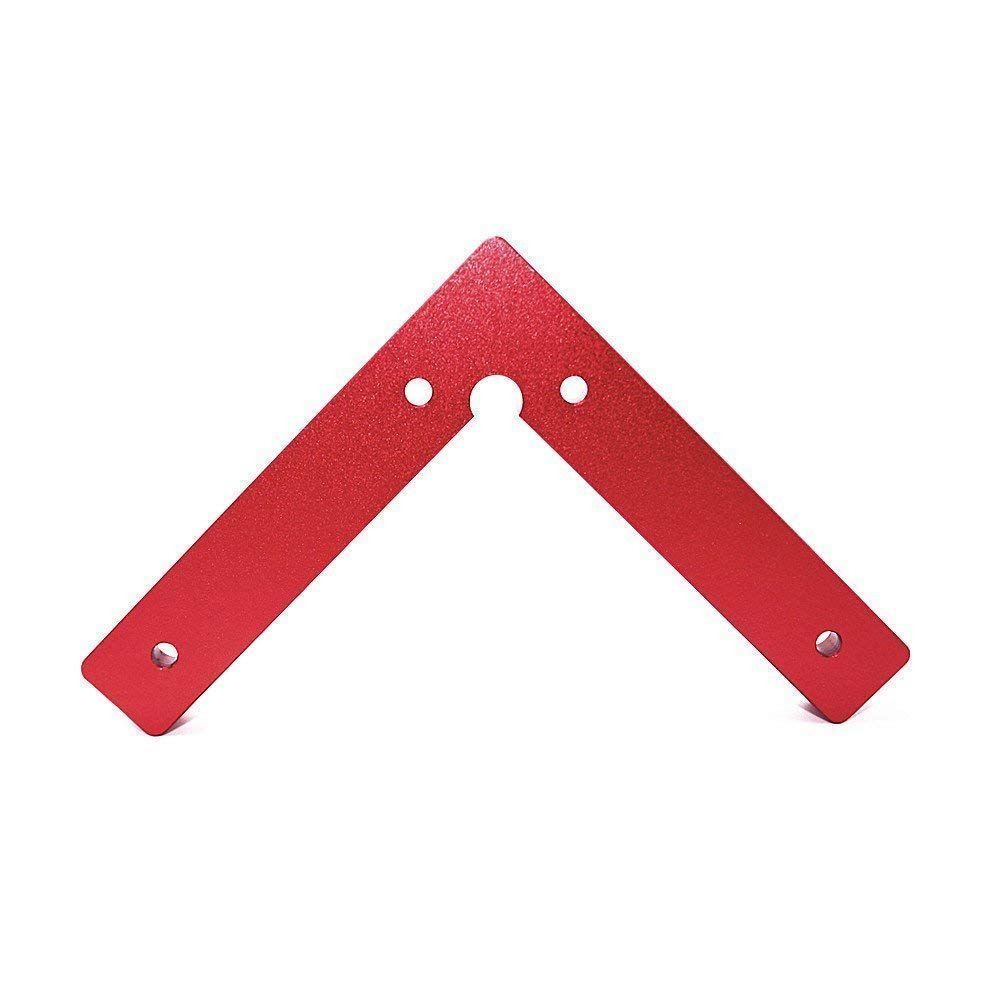 FUNN-90 Degree Positioning Squares 4.7 inch x 4.7 inch Right Angle Clamps Woodworking Carpenter Tool Lightweight Corner Clamp valianto h61202 10 inch right cut aviation snip