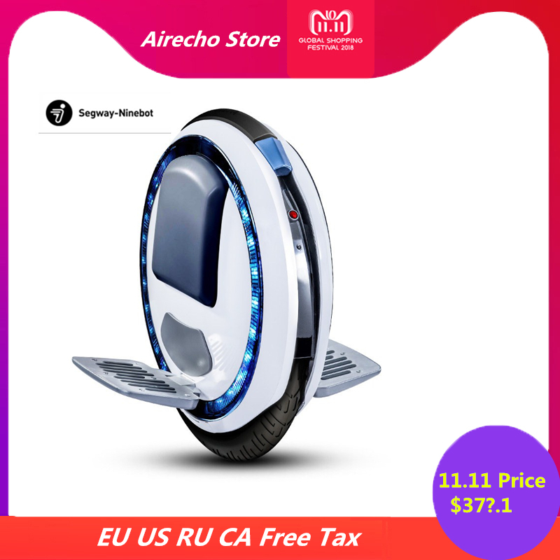 Original Ninebot One C+ Smart Self Balancing Scooter Monowheel Electric Skate Board 20 KM/H Wheelbarrow Hoverboard With APP protective cover for self balancing monowheel electric scootor kingsong ks18 and rockwheel gt16