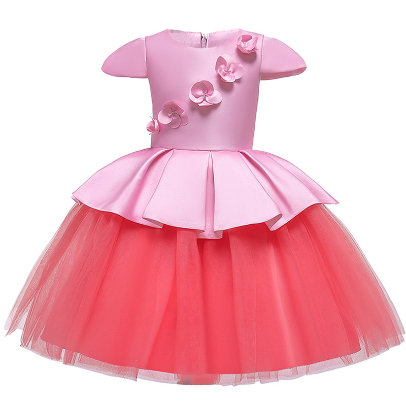 2019 Children Clothing Flower Girl Dresses Child Clothing Wedding First Communion Dresses Pageant Ball Gown Dresses For Girls