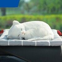 Creative Animal Air Freshener Car Air Freshener Simulation Dog & Cat Solid Charcoal Bag For Car/Household Car Accessories QP281