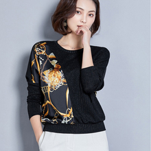 shintimes Leopard Shirt Women 2019 Womens Blouses And Tops Batwing Long Sleeve Loose Woman Clothes Plus Size Camisas Femininas