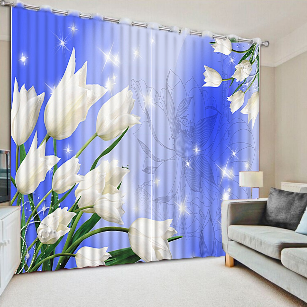 3d Curtains Home Bedroom Decoration Beautiful Window
