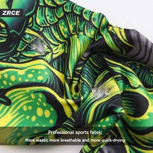 Image 5 - ZRCE 3D Dragon Print Gym Funny Clothing Quick Dry Fitness Joggers Men Fashion Sweatshirt With Arm Sleeve Stranger Things T Shirt