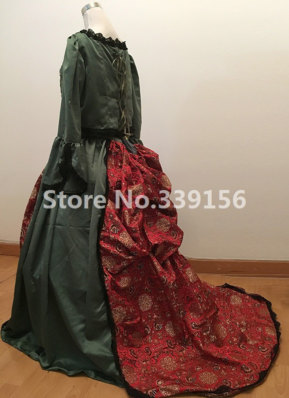 18th Rococo and Medieval Gowns Royalty Queen Elizabeth Gown Costumes Renaissance Vintage Theme Dress