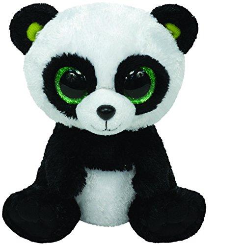 Ty Beanie Boos Bamboo Panda Plush Toy Pie Boom Boom Panda Bear Cute