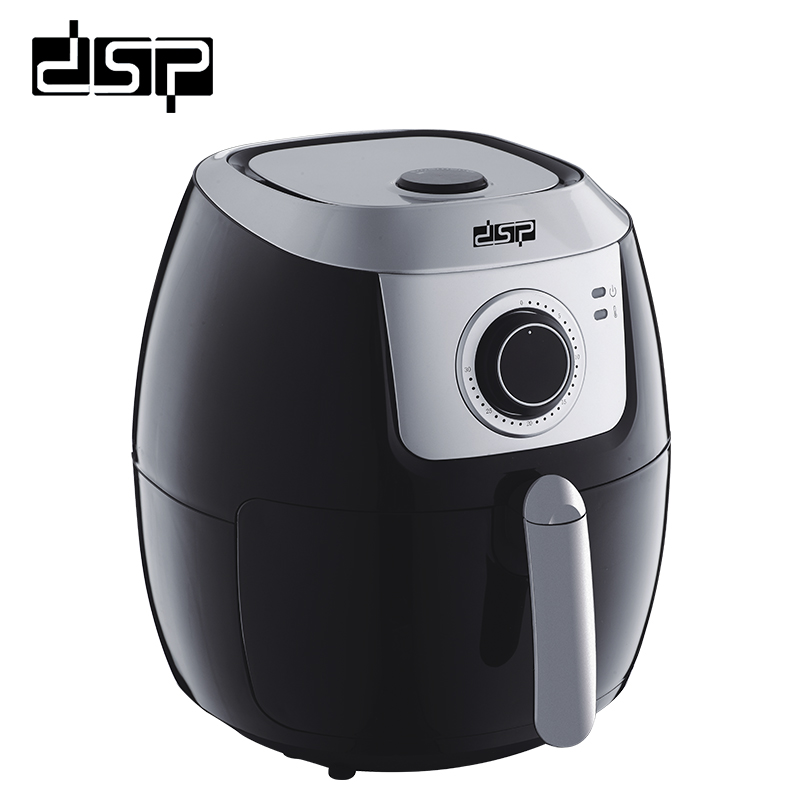DSP Easy to operate french fries machine automatic electric frying pan oil-free multi-function electric air fryer 220V 50HZ non stick coating multi function frying pan for 220v to 240v at home