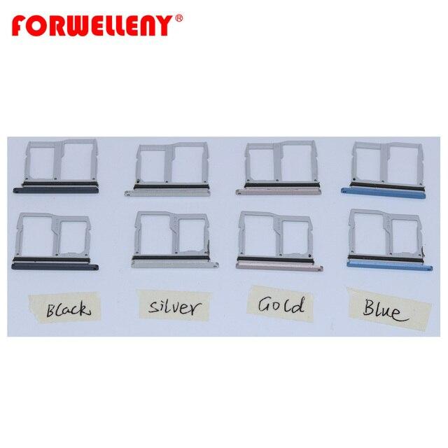 Para LG G6 Micro Sim Card Titular Bandeja Slot Substituição Adaptadores US997 VS988 ouro prata preto roxo azul