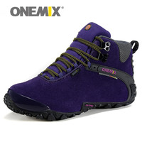 High Quality Onemix Hiking Shoes Women Waterproof Outdoor Walking Sport Comfortable Breathable Sneaker For Lady Trainers